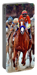 Triple Crown Winner Justify Portable Battery Charger