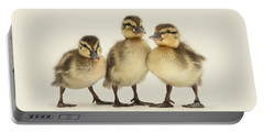 Triple Ducklings Portable Battery Charger