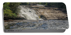 Triple Falls Second Tier Portable Battery Charger by Steven Richardson