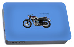 Triumph Bonneville 1968 Portable Battery Charger by Mark Rogan