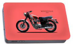 Triumph Bonneville 1969 Portable Battery Charger by Mark Rogan