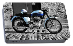 Triumph Bonneville T120 Portable Battery Charger by Mark Rogan