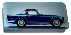 Triumph Tr5 1968 Painting Portable Battery Charger