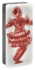 Trobriand Islands Dancer Portable Battery Charger