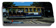 Trolley Car Turn Around Portable Battery Charger