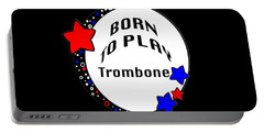 Trombone Born To Play Trombone 5674.02 Portable Battery Charger