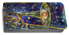 Trombone Portable Battery Charger by Michael Creese