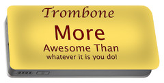 Trombones More Awesome Than You 5557.02 Portable Battery Charger