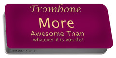 Trombones More Awesome Than You 5558.02 Portable Battery Charger