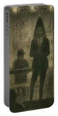 Trombonist  Portable Battery Charger by Georges-Pierre Seurat
