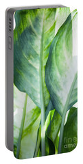 Tropic Abstract  Portable Battery Charger