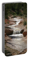 Portable Battery Charger featuring the photograph Tropic Creek by Marie Leslie