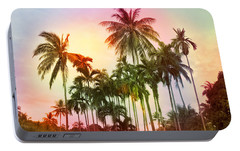 Tropical 11 Portable Battery Charger by Mark Ashkenazi