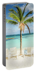 Tropical Bahamas Beach Portable Battery Charger