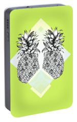 Tropical Portable Battery Charger by Barlena Illustrations