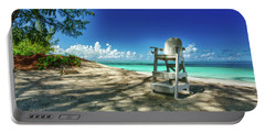 Tropical Beach Chair Portable Battery Charger