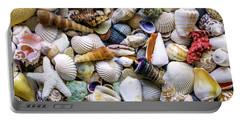 Tropical Beach Seashell Treasures 1500a Portable Battery Charger