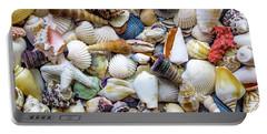 Tropical Beach Seashell Treasures 1529b Portable Battery Charger