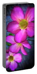Tropical Bliss Portable Battery Charger by Karen Wiles