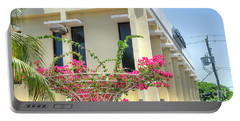 Tropical Bougainvillea Portable Battery Charger