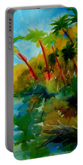 Tropical Canal Portable Battery Charger