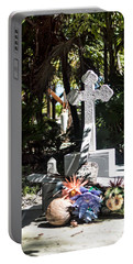 Tropical Cemetery Portable Battery Charger