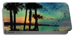 Tropical Evening Portable Battery Charger