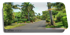 Tropical Feel Residential Street Portable Battery Charger