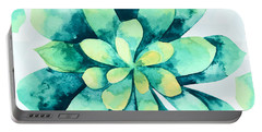 Tropical Flower  Portable Battery Charger by Mark Ashkenazi