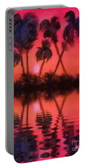 Tropical Heat Wave Portable Battery Charger