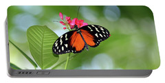 Tropical Hecale Butterfly Portable Battery Charger