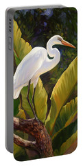 Tropical Heron Portable Battery Charger