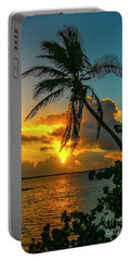 Tropical Lagoon Sunrise Portable Battery Charger