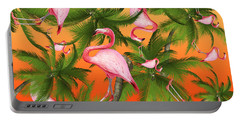 Tropical Portable Battery Charger by Mark Ashkenazi