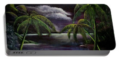 Tropical Moonlight Portable Battery Charger