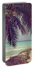 Tropical Ocean View Portable Battery Charger