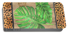 Tropical Palms 2 Portable Battery Charger