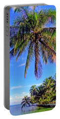 Tropical Palms Portable Battery Charger