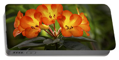 Tropical Rhododendron Portable Battery Charger