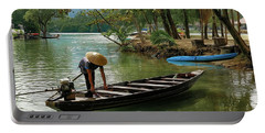 Tropical River  Portable Battery Charger