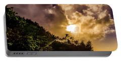 Tropical Sunset Portable Battery Charger