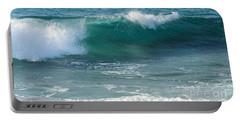 Tropical Treasure Coast Florida Seascape Wave 99 Portable Battery Charger