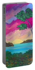 Tropical Volcano Portable Battery Charger
