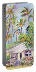 Tropical Waimea Cottage Portable Battery Charger