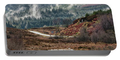 Portable Battery Charger featuring the photograph Trossachs National Park In Scotland by Jeremy Lavender Photography