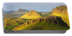 Trotternish Summer Morning Panorama Portable Battery Charger