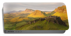 Trotternish Summer Panorama Portable Battery Charger