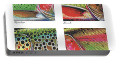 Trout Colors Portable Battery Charger