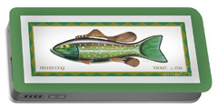 Trout Ice Fishing Decoy Portable Battery Charger
