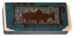 Trout Silhouette Portable Battery Charger